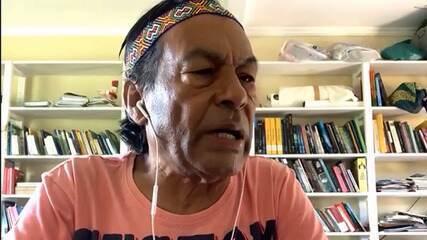 Ailton Krenak analisa impactos da pandemia para povos indígenas e periféricos