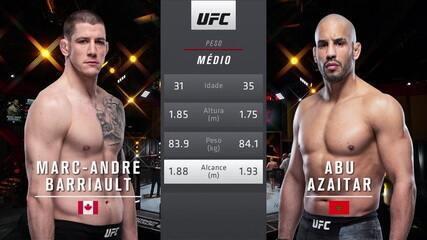UFC 260 - Marc-André Barriault x Abu Azaitar