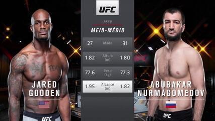 UFC 260 - Jared Gooden x Abubakar Nurmagomedov