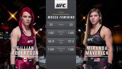UFC 260 - Gillian Robertson x Miranda Maverick