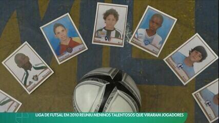 Liga Futsal em 2010 reuniu meninos talentosos que viraram jogadores