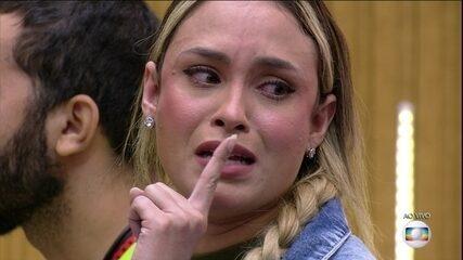 Sarah ironiza para Rodolffo no BBB21: 'Amizade maravilhosa a sua'