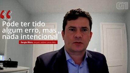 VÍDEO: Sergio Moro diz que Lava Jato pode ter cometido algum erro, mas que não houve nada intencional