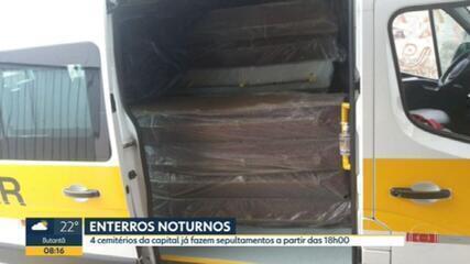Motoristas de vans escolares começam a transportar mortos por Covid em SP