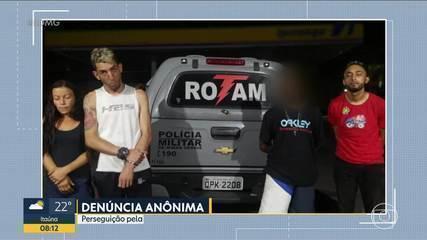 Perseguição pela Av. Cristiano Machado termina com três presos e um menor apreendido