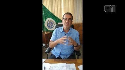 Prefeito anuncia remédios de 'prevenção' contra a Covid em Piracicaba, em 15 dejaneiro
