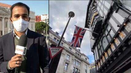 Reino Unido registra 10 mortes por Covid-19 em 24 horas