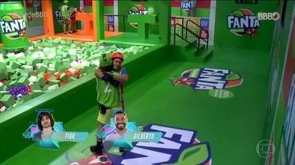 Veja como Fiuk e Gil venceram a Prova do Anjo no BBB21
