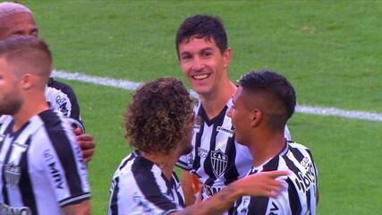 Os gols de Atlético-MG 3 x 1 América-MG pelo Campeonato Mineiro 2021