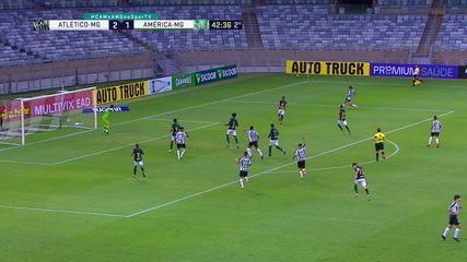 Melhores momentos de Atlético-MG 3 x 1 América-MG pelo Campeonato Mineiro 2021