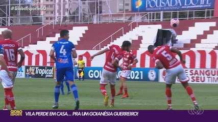 Goianésia surpreende e vence o Vila Nova por 2 a 0 no OBA