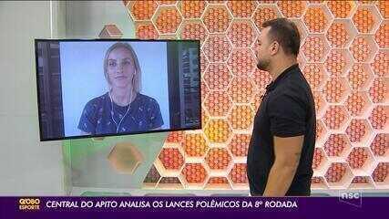Central do Apito - Fernanda Colombo analisa lances polêmicos da 8ª rodada