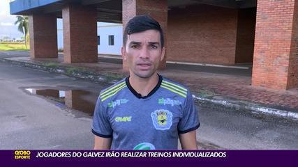 Técnico espera liberação do futebol no AC para preparar Galvez para Copa do Brasil Sub-20