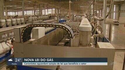Ceramistas de Santa Gertrudes aguardam sanção de lei sobre gás e pensam em gasoduto