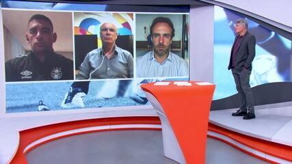 Diego Souza analisa o Gre-Nal e o jogo contra o Del Valle