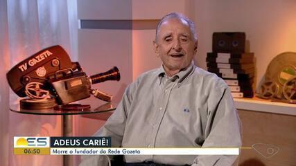 Morreu Cariê Lindenberg, presidente da Rede Gazeta
