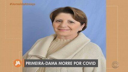 Primeira-dama de São Jorge morre de Covid 20 dias após marido