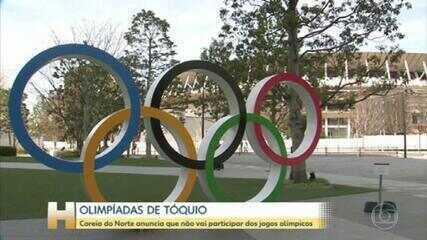 Coreia do Norte anuncia que não vai participar das Olimpíadas de Tóquio
