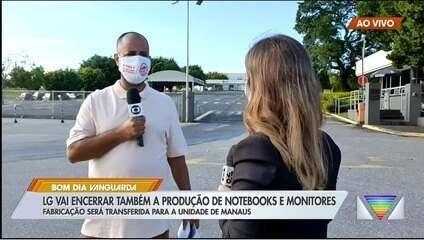 LG deve demitir cerca de 700 trabalhadores com encerramento de produção em Taubaté