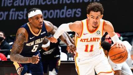 Melhores momentos de Atlanta Hawks 107 x 123 New Orleans Pelicans pela NBA