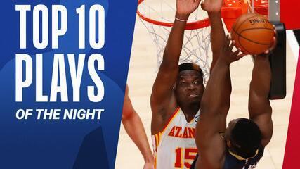 Top 10: As melhores jogadas da noite desta terça na NBA