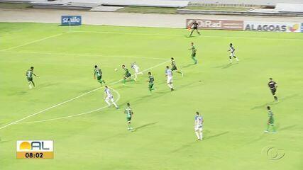 Veja os gols de Bruno Mota na goleada do CSA sobre o Corurip