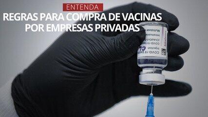 VÍDEO: Entenda as regras para a compra de vacinas por empresas privadas