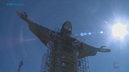 Estátua de Cristo com 43 metros de altura será construída em Encantado