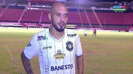 Após eliminação na Copa do Brasil, Paulinho diz que o momento não é de apontar culpados