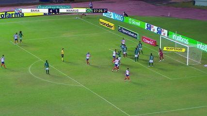 Melhores momentos: Bahia 4 x 1 Manaus, pela segunda fase da Copa do Brasil