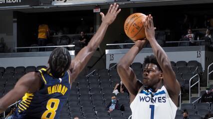 Melhores momentos: Indiana Pacers 141 x 137 Minnesota Timberwolves pela NBA