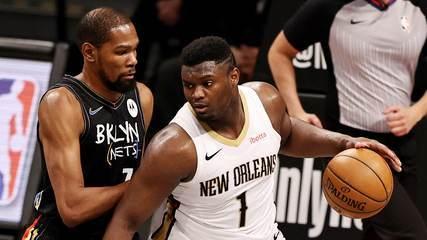 Melhores momentos: Brooklyn Nets 139 x 111 New Orleans Pelicans pela NBA