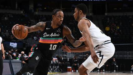 Melhores momentos: Denver Nuggets 106 x 96 San Antonio Spurs pela NBA