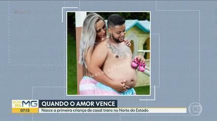 Homem trans dá a luz a uma menina em Minas Gerais
