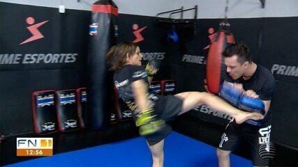 Ariane Sorriso se aproxima da 2ª luta no UFC mais completa, na visão de técnico