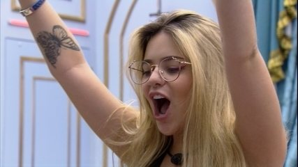 Viih Tube comemora Almoço do Líder no BBB21