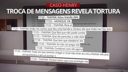 VÍDEO: por mensagens à mãe, babá narrou tortura de Henry por Dr. Jairinho