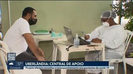 Juntos por Uberlândia: começa a funcionar a central de apoio à Covid-19