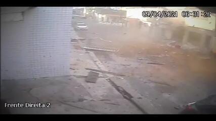 Explosão atinge imóveis e deixa pessoas feridas na Zona Leste de Natal