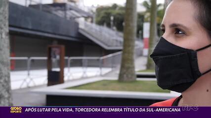 Torcedora relembra conquista da Sul-Americana após superar problema de saúde