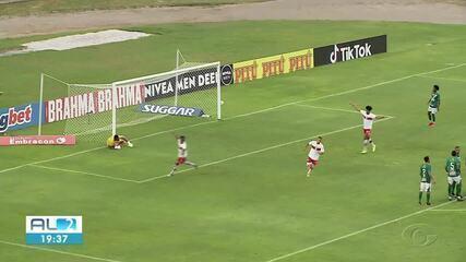 Veja os gols de CRB 1 x 1 Altos