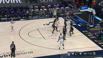 Melhores Momentos: Utah Jazz 128 x 112 Sacramento Kings pela NBA