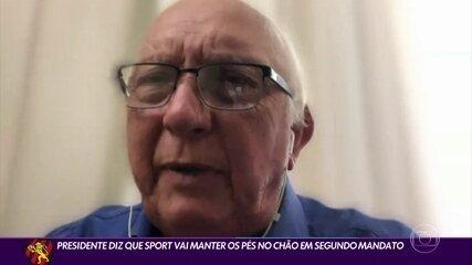 Presidente do Sport fala sobre treinador, planejamento para Série A e reforços