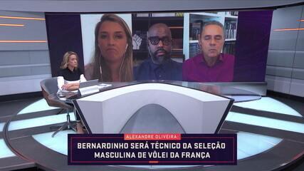 Bernardinho será técnico da seleção masculina de vôlei da França
