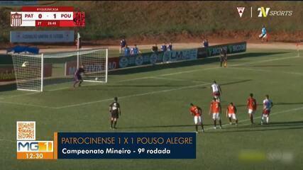 Patrocinense e Pouso Alegre empatam em Patrocínio pelo Mineiro