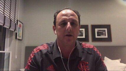 Rogério Ceni fala sobre as peças de reposição do Flamengo