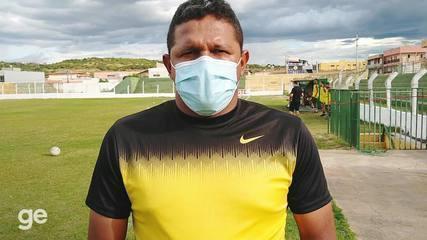 Washington Luiz fala sobre baixas no elenco e desafio de bater o Altos, em Picos