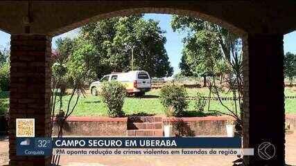 Polícia Militar realiza a 5ª fase da Operação 'Campo Seguro' na região de Uberaba