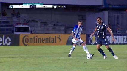 Melhores momentos: CSA 1 (5) x (6) 1 Remo pela segunda fase da Copa do Brasil