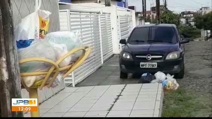Moradores reclamam de coleta de lixo em João Pessoa